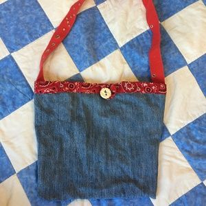 Other - Handmade Jean Tote Bag